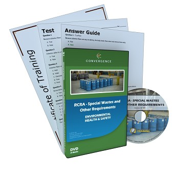 Convergence Training DVD: RCRA - Special Wastes and Other Requirements
