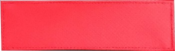 BLANK ID PANEL NYLON BLANK RED INFECTION CONTROL