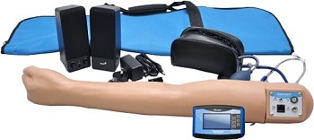 Blood Pressure Training System with Speakers