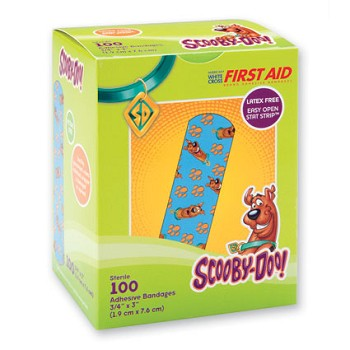 Scooby Doo Adhesive Bandages