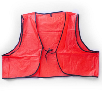 Blaze Orange Safety Vest - Construction Hunting Vest