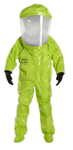 DuPont Encapsulated Level A Chemical Protection Suit