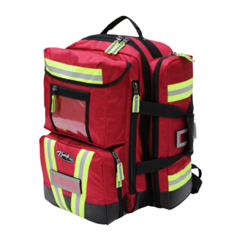 KEMP USA PREMIUM ULTIMATE EMS BACKPACK - RED
