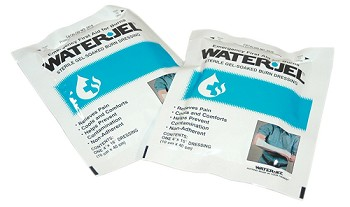 "Water Jel All-Purpose Dressing (4"" x 16"", Sterile)  Box of 7"